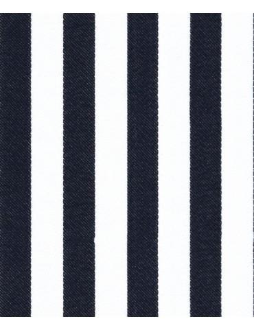 White Black Striped Shirt