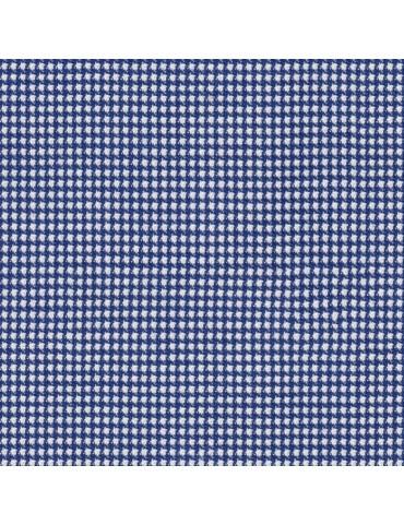 Medium Blue Band Collar Dobby Shirt