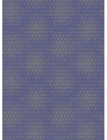Blue Spot Print Kurta Shirt