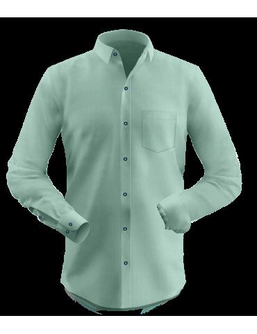 Green Dobby Shirt