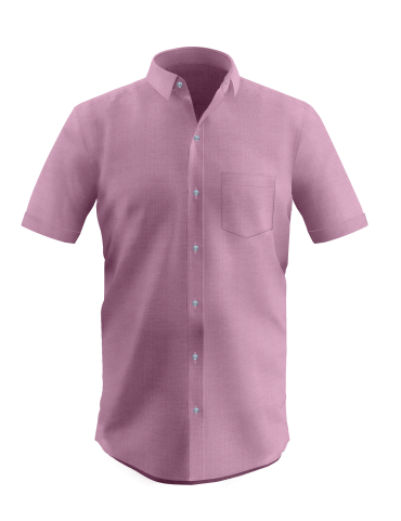 Pale Voilet Half Sleeves Shirt