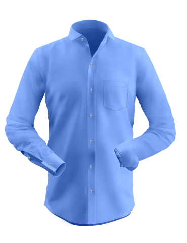 Cornflower Blue Formal Shirt