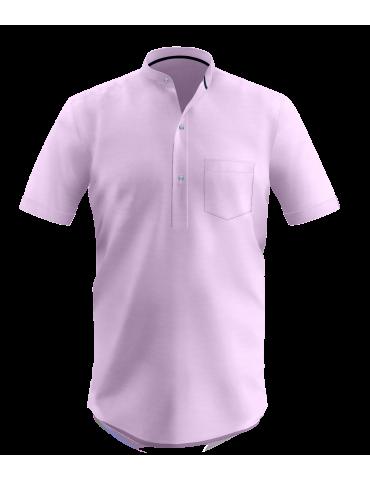 Lavender Dobby Kurta Shirt