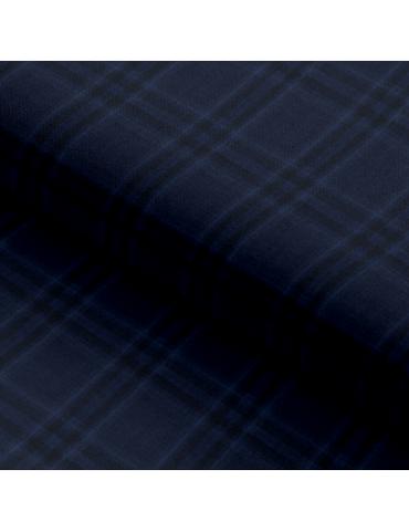 Dark Blue Plaid Checks