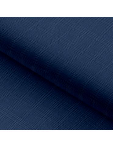 Midnight Blue Checks